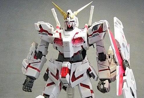 MG 普通版 MG102 RX-0 Unicorn 独角兽高达 Ver.Ka